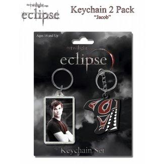 "NECA  Twilight Eclipse Keychain 2 pack ""Jacob"""