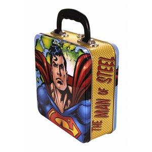 Superman Square Tin Lunch Box