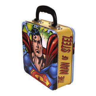 Superman Square Tin Lunch Box