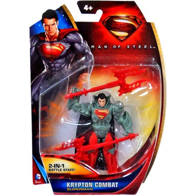 Superman Man of Steel Krypton Combat Action Figure