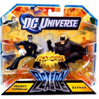 Action League Project: Superman & Batman Mini Figures