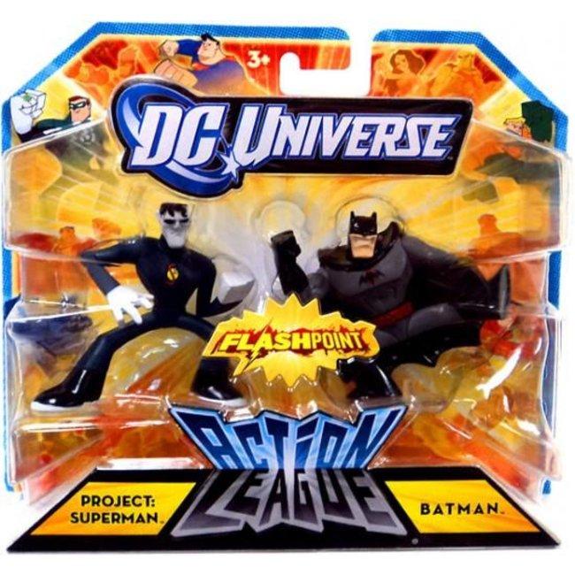 Action League Project: Superman & Batman Mini Figures