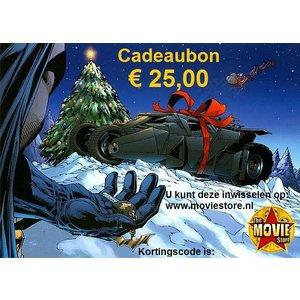 Kerst Cadeaubon € 25,00