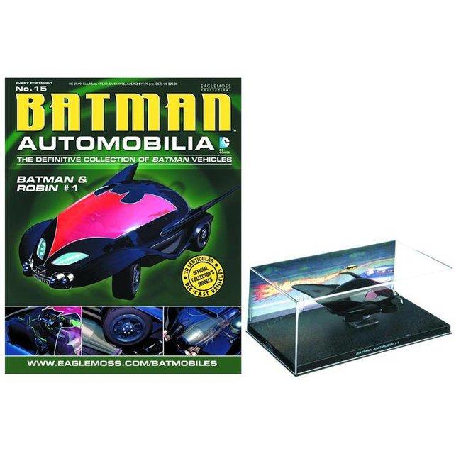 Automobilia Collection #015 - Batman & Robin #1 Bat 1/43 Scale