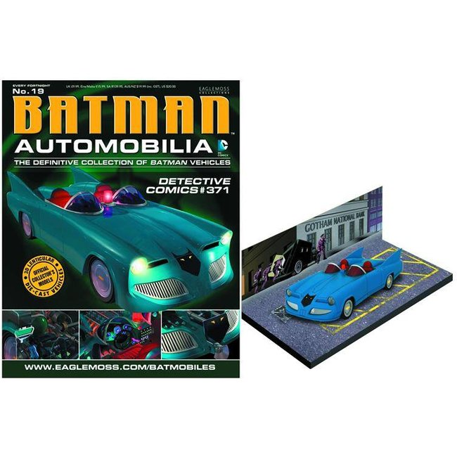Automobilia Collection #019 - Detective Comics #371 Batmobile 1/43 Scale