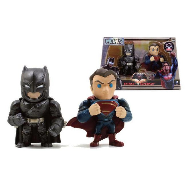 Batman v Superman Metals Die Cast Figures Batman & Superman 10 cm