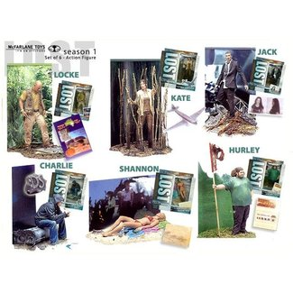 McFarlane Lost Series 1 - Set of 6 Action Figures