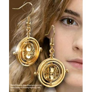 Noble Collection Replica 1/1 Hermione Granger´s The Time Turner Earrings (gold plated)