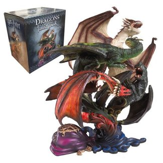 Harry Potter Sculpture Dragons of The First Task