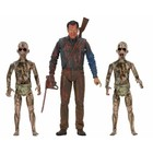 Ash vs. Evil Dead Action Figures 3-Pack Bloody Ash vs Demon Spawn 14-18 cm