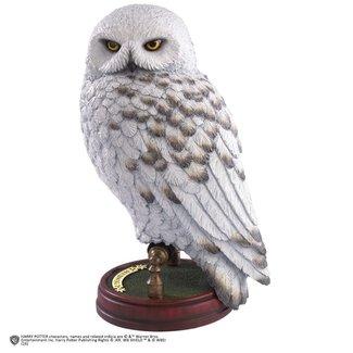 Noble Collection Harry Potter magischer Geschöpfe Hedwig Statue 24 cm