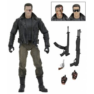 NECA  Terminator: Ultimate Police Station Assault T-800 7 inch AF