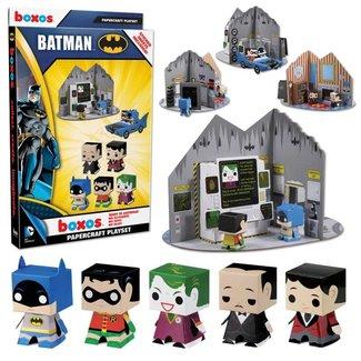 Batman Papercraft Activity Set