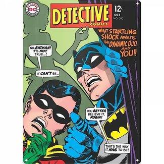 Batman Detective Comics - große Blechschild