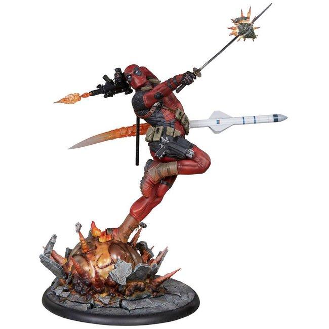 Marvel Comics Premium Format Figure Deadpool Heat Seeker