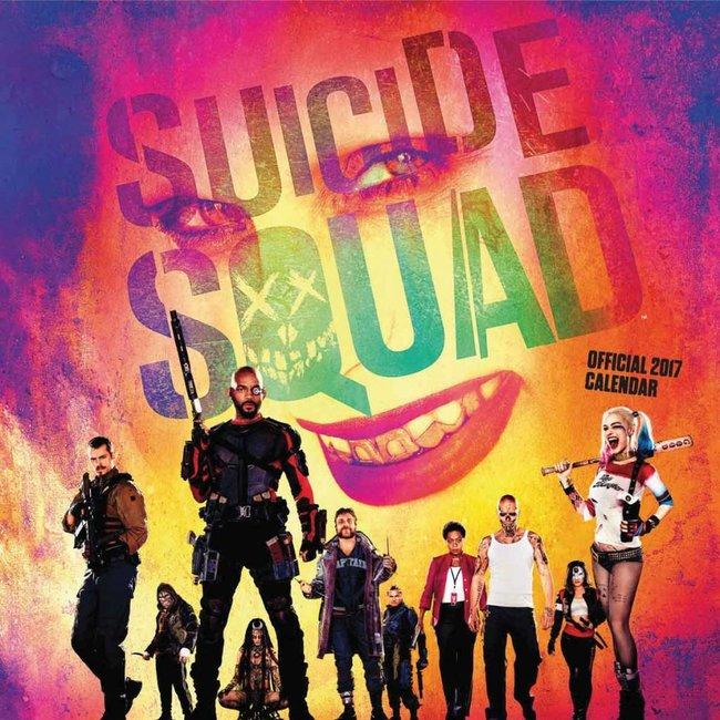 Suicide Squad Calendar 2017 *English Version*