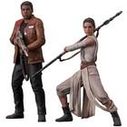 Star Wars Episode VII ARTFX + Statue 2-Pack Rey & Finn