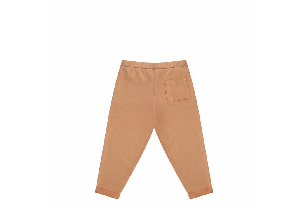 Cropped chino toasted nut