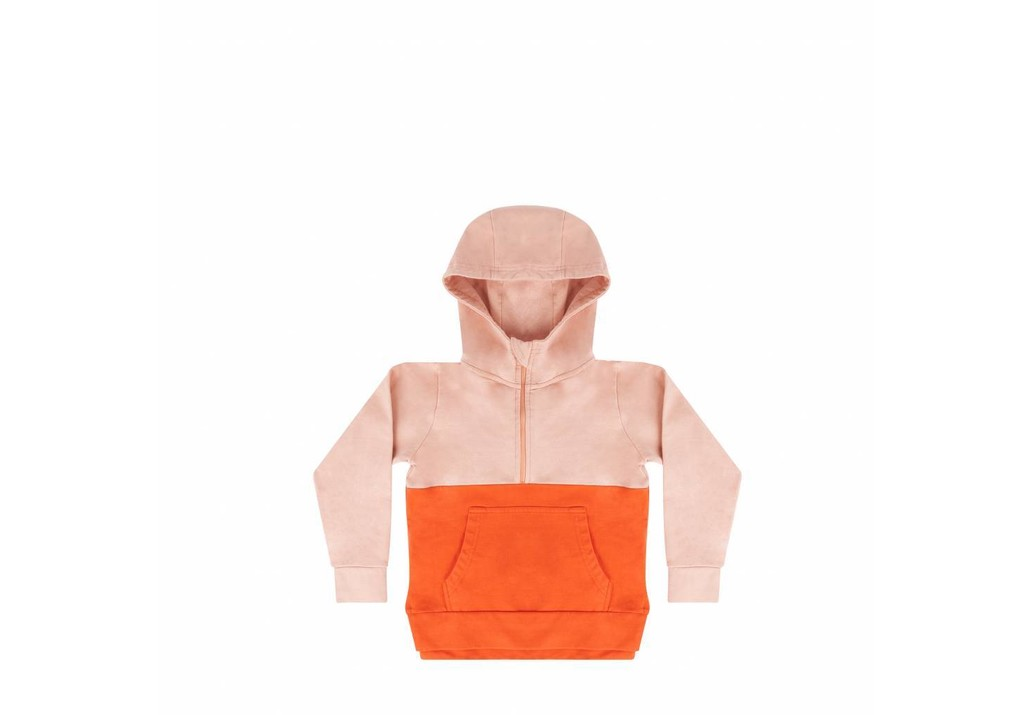 Hoodie Peach pink Koi