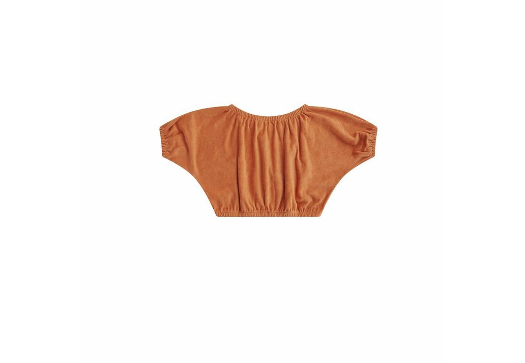 Cropped top Toasted nut