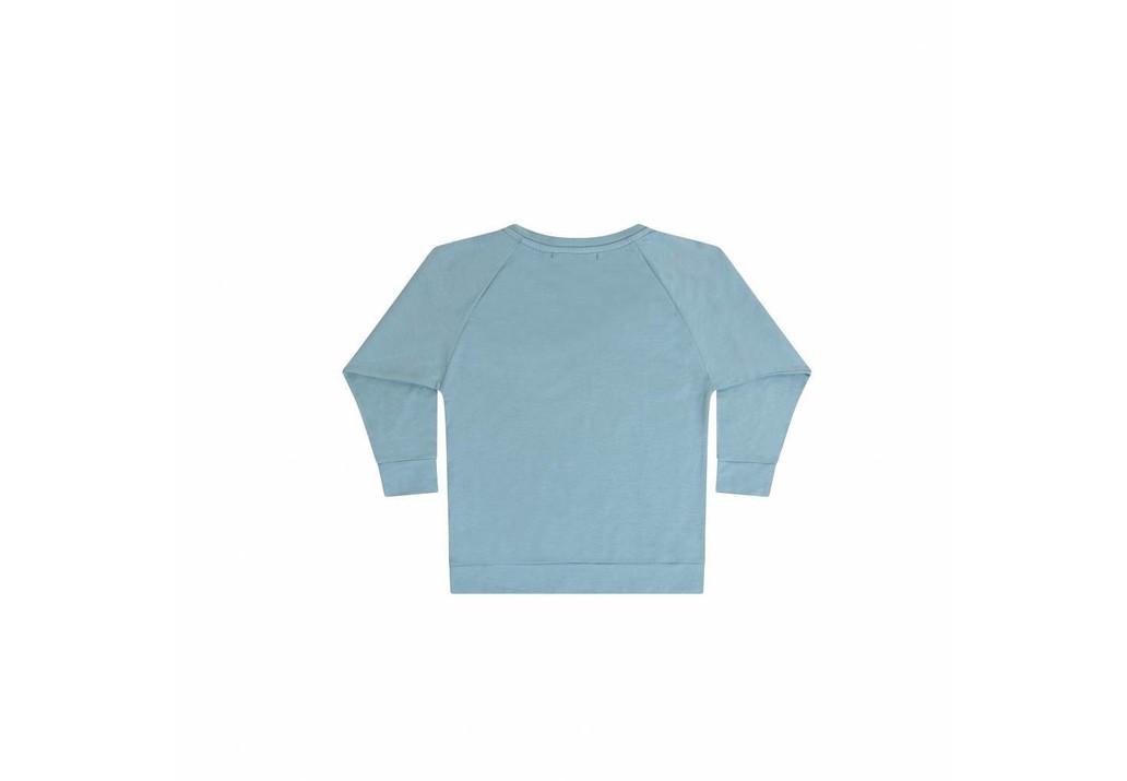 Long sleeve Smoke blue