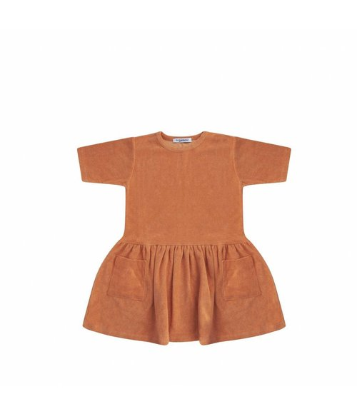 MINGO Dress toasted nut