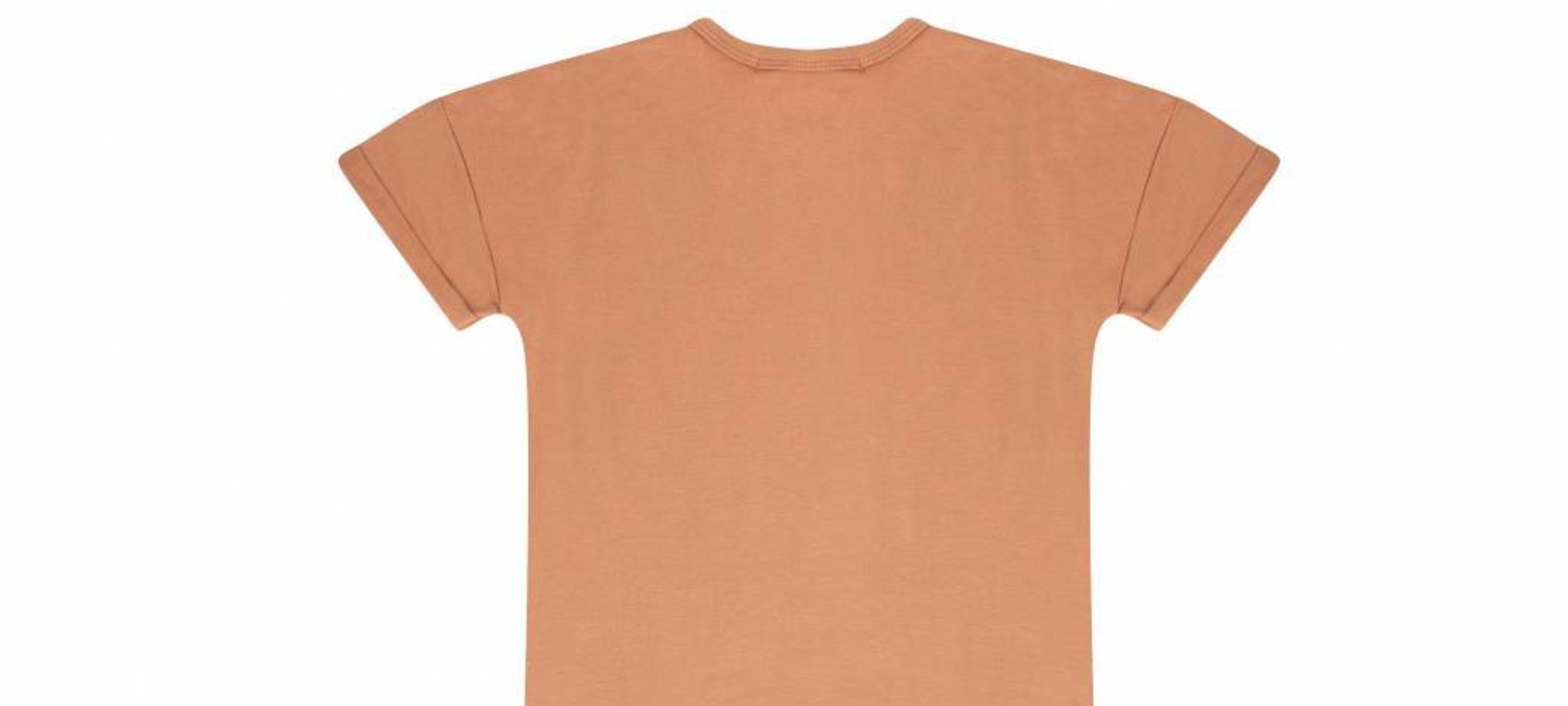 T-shirt dress toasted nut