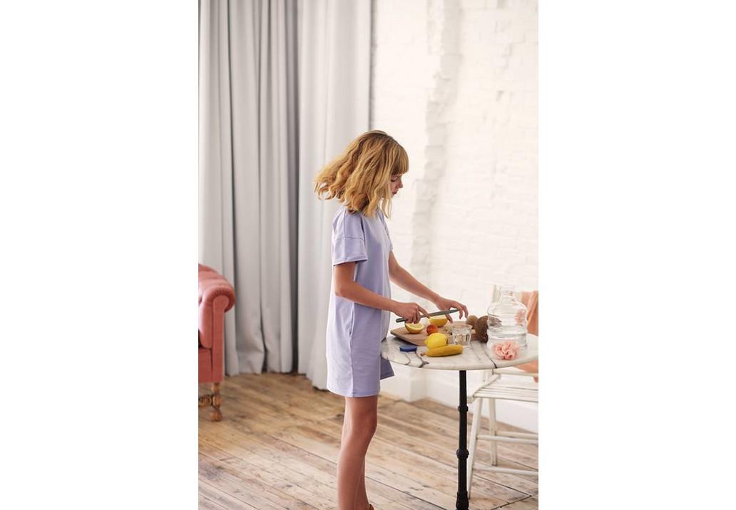 T-shirt dress Lilac