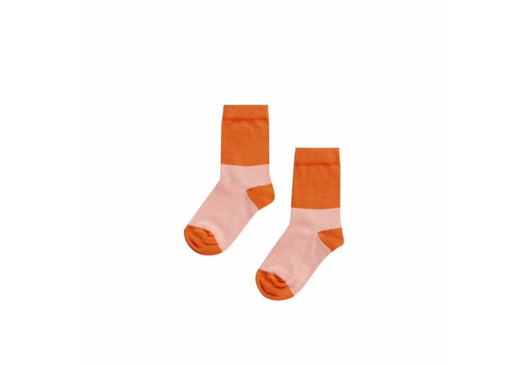 Sock Peach pink/koi