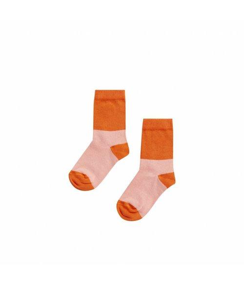 MINGO Sock Peach pink/koi