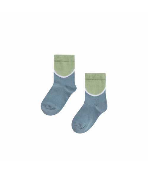MINGO Sock Smoke blue/mint