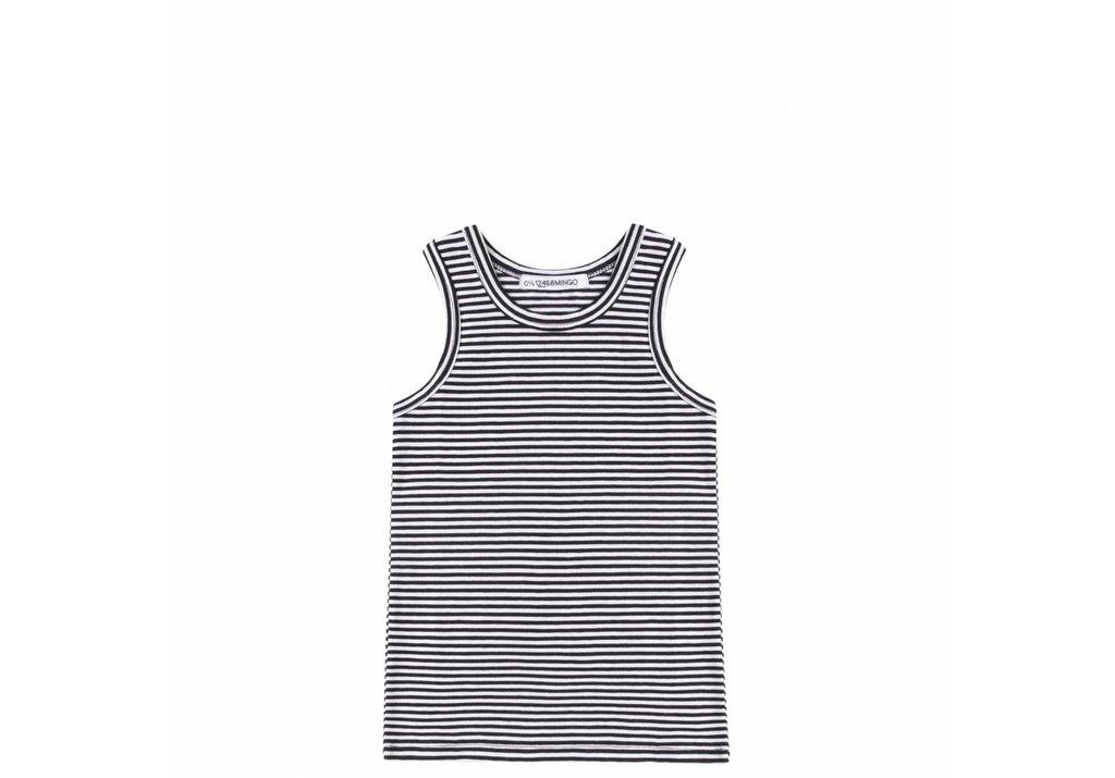 Singlet B/W Stripes