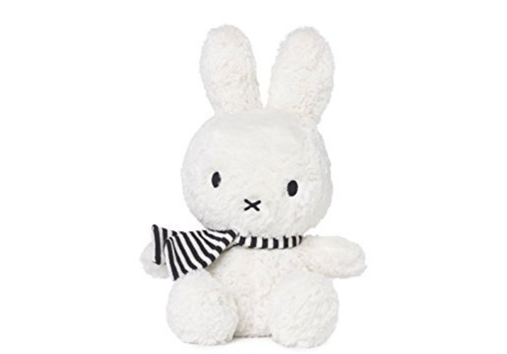 Miffy with striped scarf