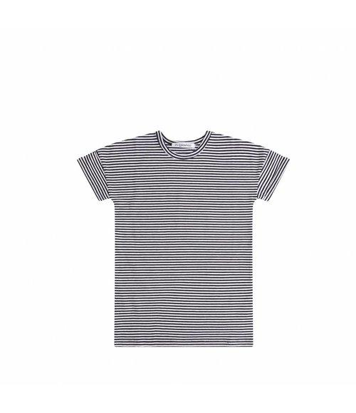 MIINGO T-Shirt dress B/W stripes