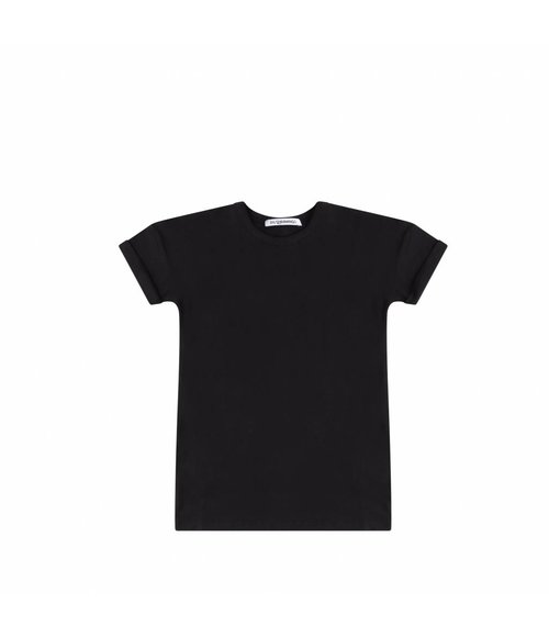 MIINGO T-Shirt dress Black