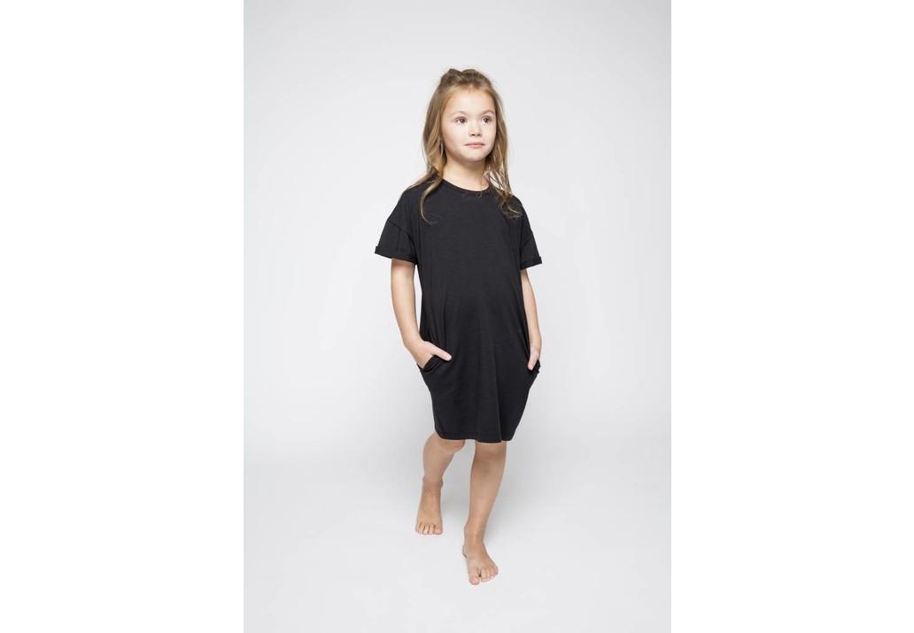 T-Shirt dress Black