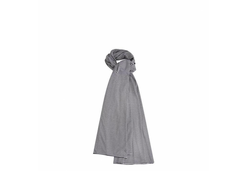 XL scarf B/W Stripes