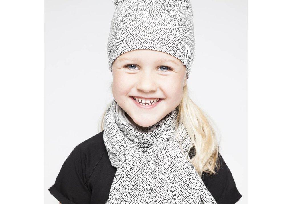 XL scarf Dots