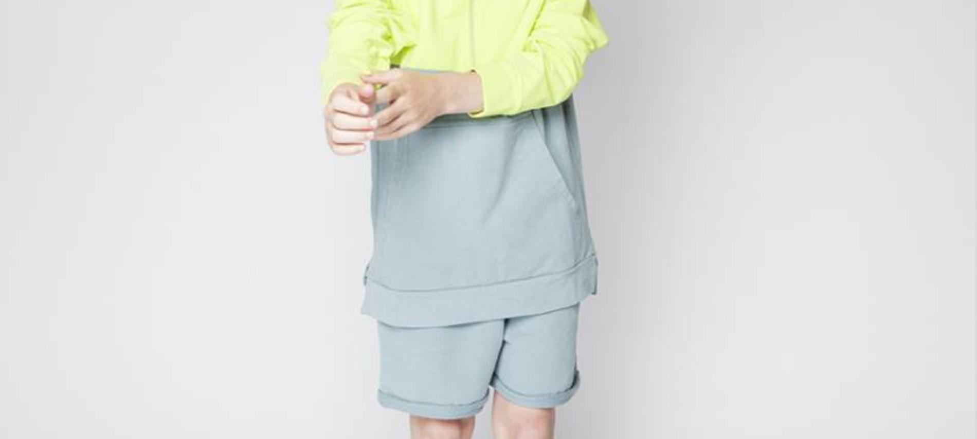 Sock Smoke blue/mint