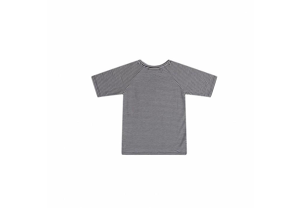 Adult T-Shirt B/W Stripes