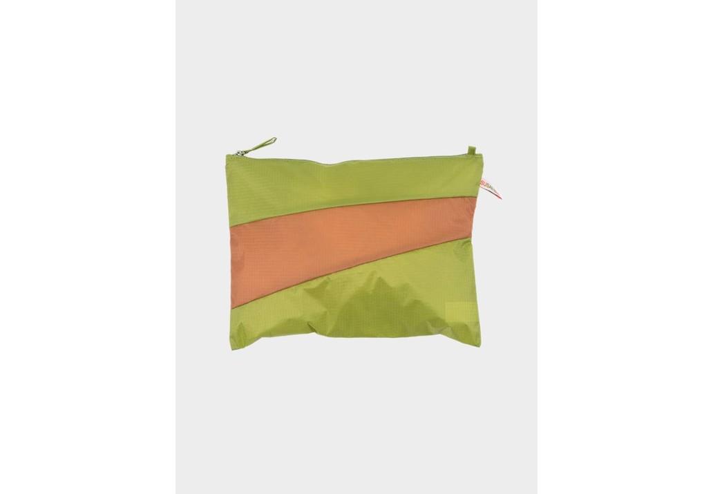SUSAN BIJL Pouch and strap Apple & Horse, L