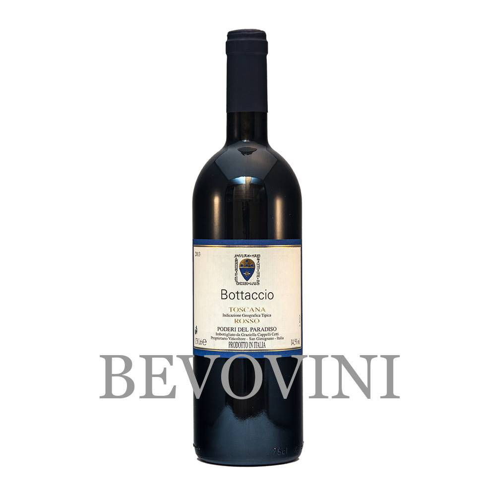 Poderi del Paradiso Bottaccio 2016 - Vino Rosso Toscana Igt