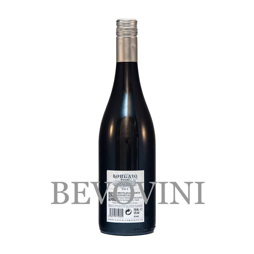 Castello di Meleto Vino Rosso Toscana Igt - Borgaio 2017