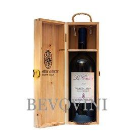 Domini Veneti Ripasso della Valpolicella Classico Superiore Doc 2017 - La Casetta - Magnum in houten kist
