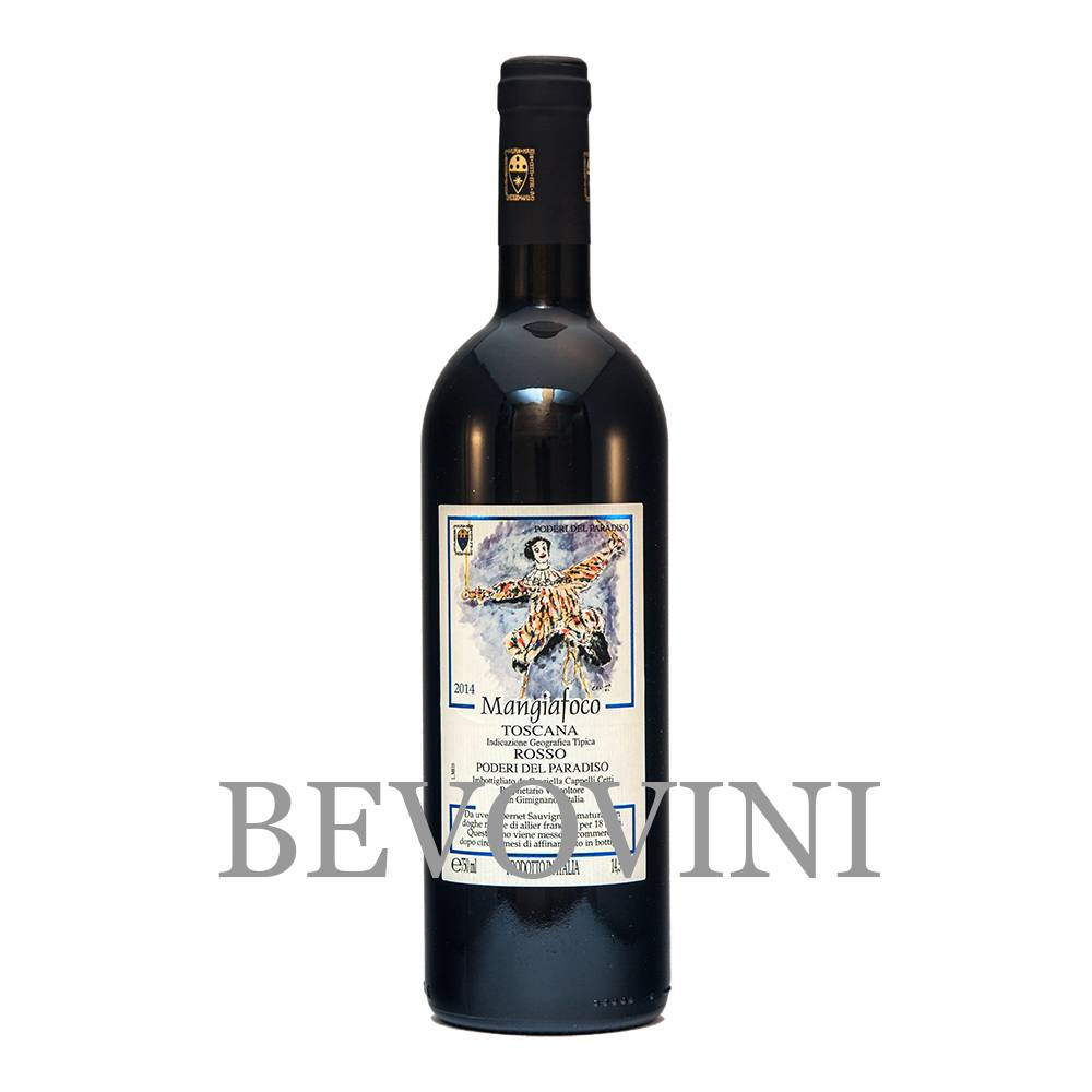 Poderi del Paradiso Mangiafoco 2015 - Vino Rosso Toscana Igt