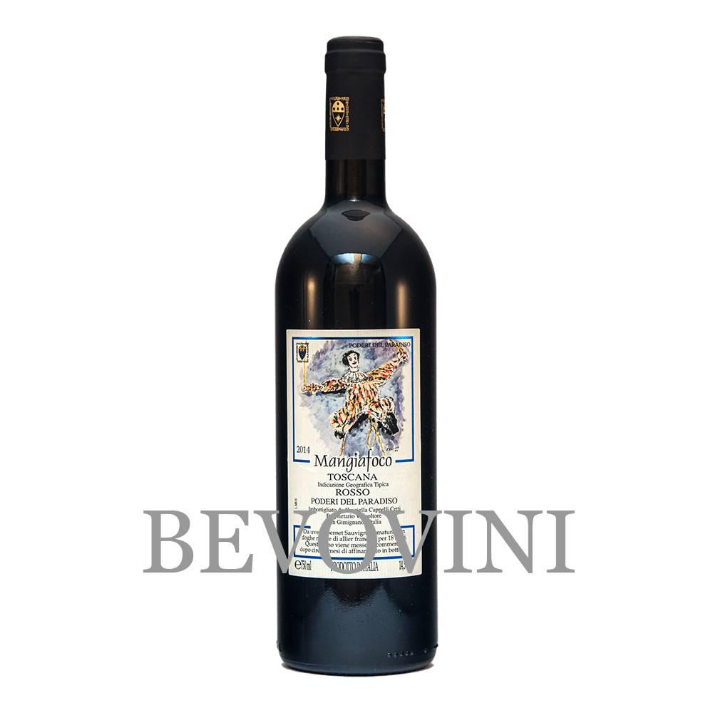 Poderi del Paradiso Mangiafoco 2018 - Vino Rosso Toscana Igt