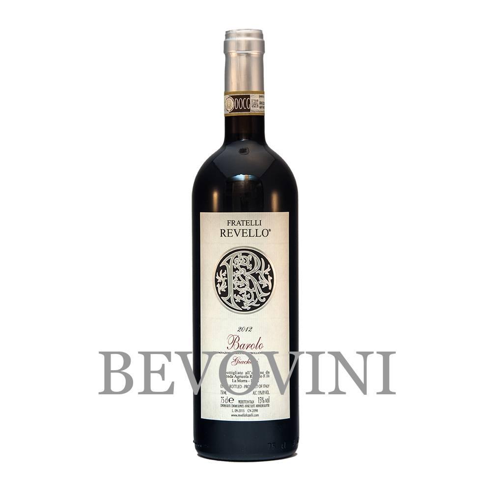 Fratelli Revello Barolo Docg - Vigna Giachini 2015 - Magnum in houten kist