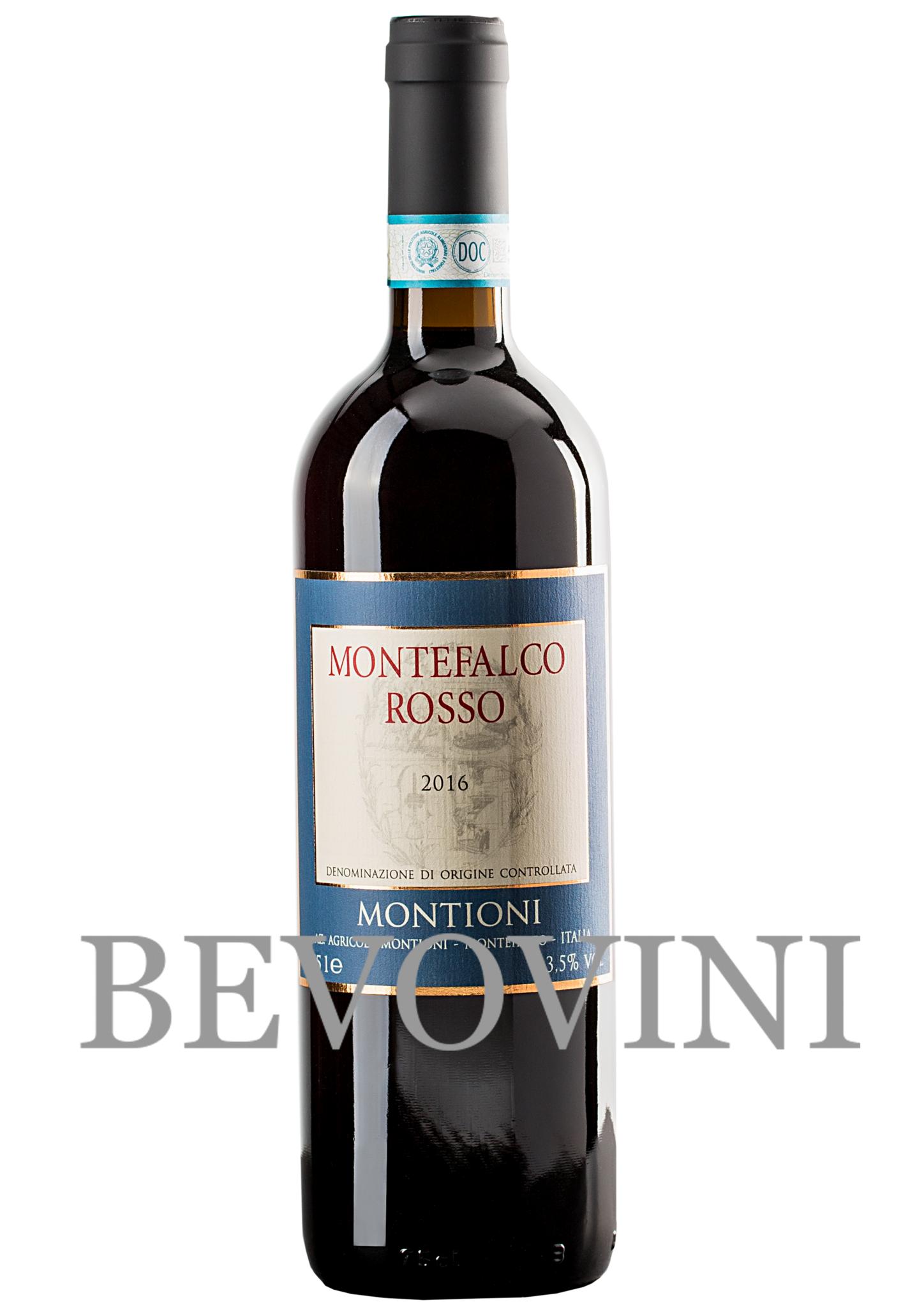 Montioni Paolo Montefalco Rosso Doc 2017
