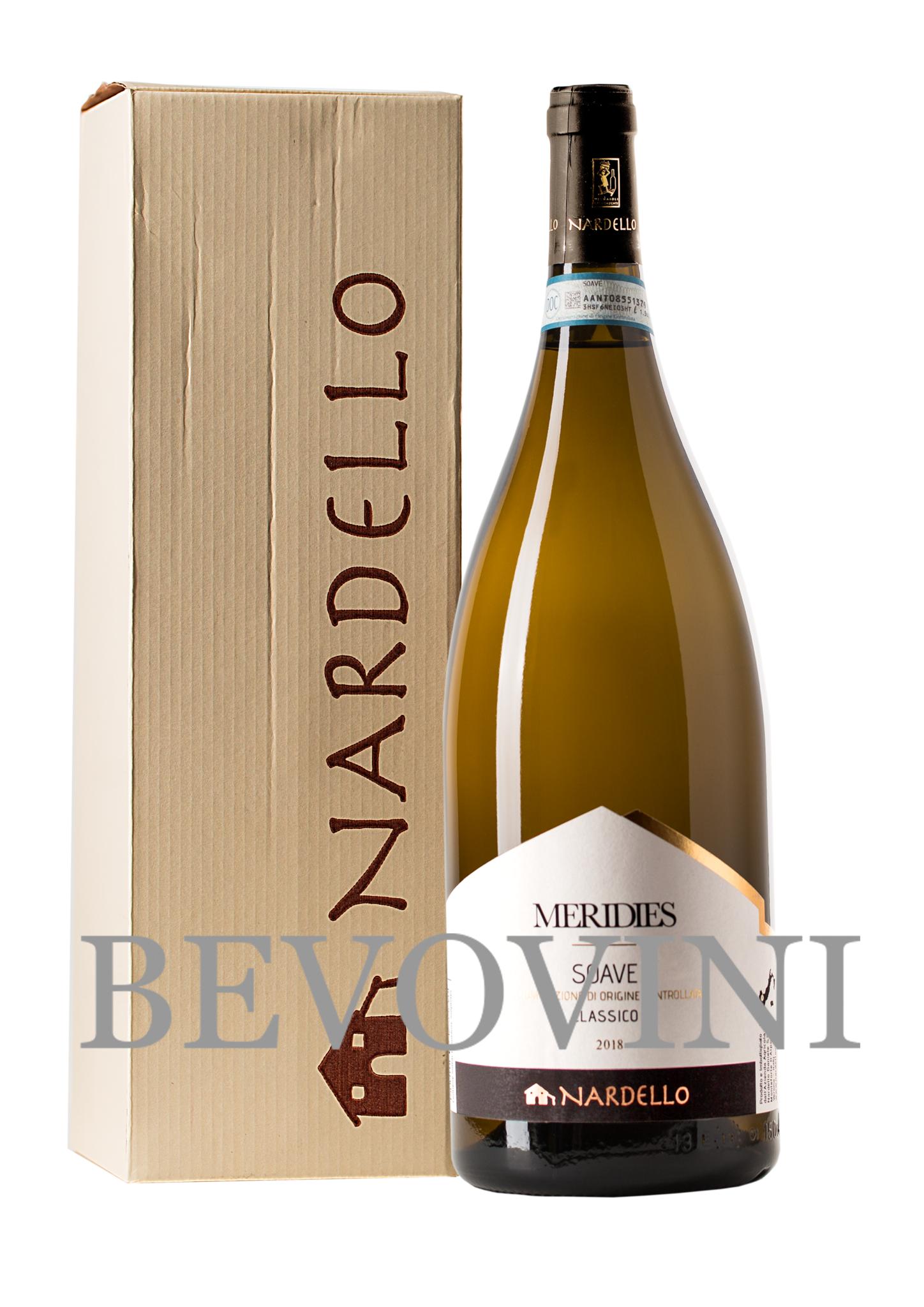 Nardello Soave Classico Doc - Meridies 2018 - Magnum in geschenkverpakking