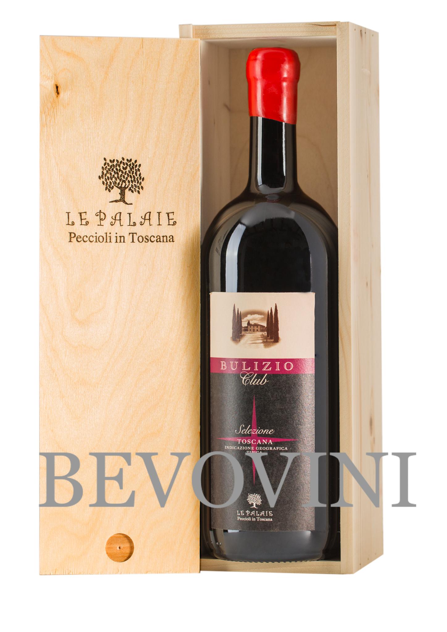 Le Palaie Vino Rosso Toscana Igt - Bulizio Club - Magnum